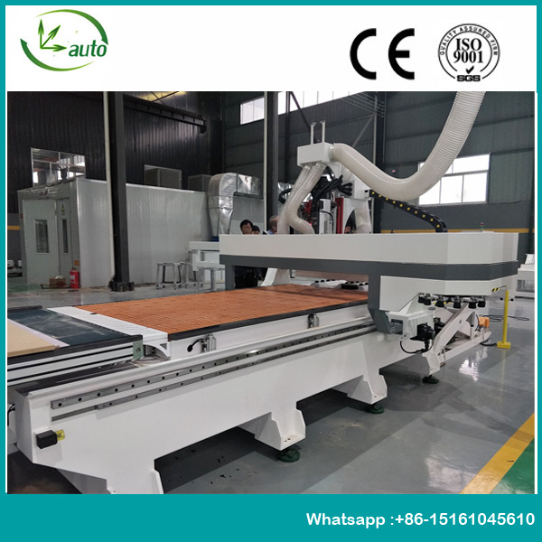 High-Authority Plate Furniture Auto Feeding CNC Router