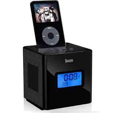 Dock Speaker with 10-hour Rechargeable Battery for iPod (SH-IP-007)