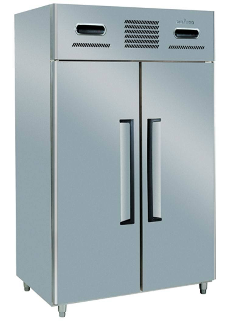 2-Door 2-Temp. Stainless Steel Commercial Rrefrigerator/Freezer