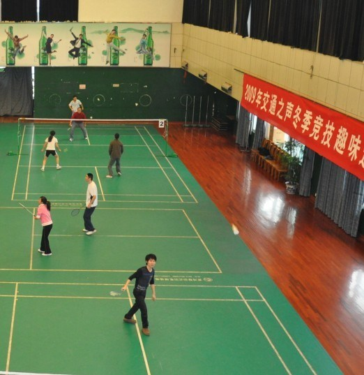 Indoor Sport Court China Badminton Flooring Sports Flooring