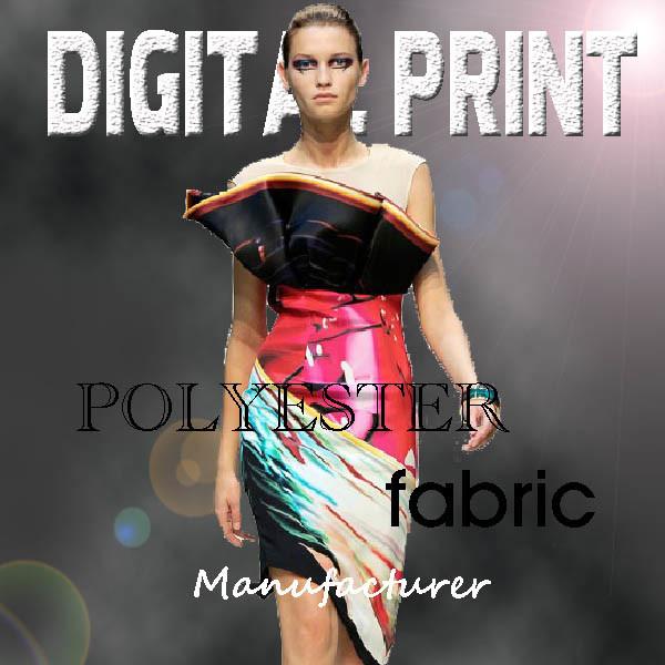 Top End Poly Silk Digital Printed