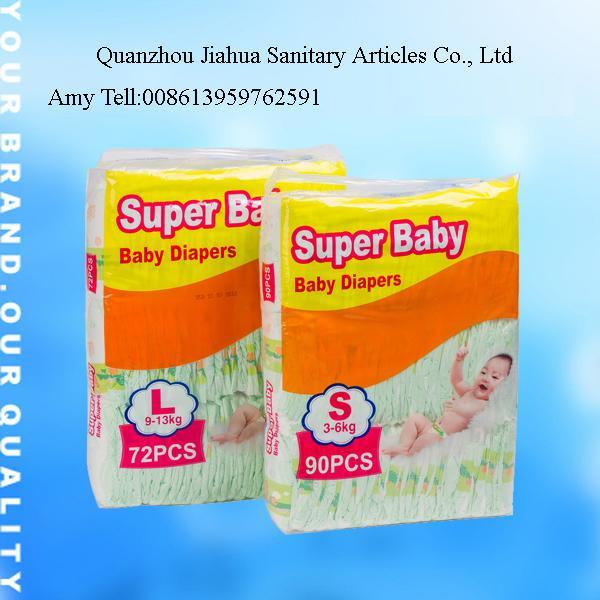 Disposable Baby Diaper Nappy with Good Quality (JHS008)
