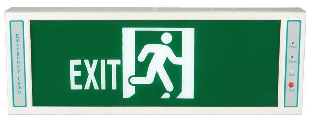 lighted exit signs · archiexpo.com