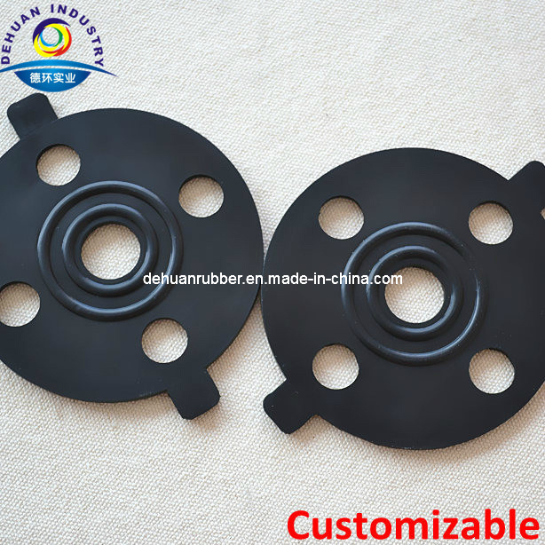 Viton/Silicone/EPDM/NBR Rubber Flange Gasket with High Performance