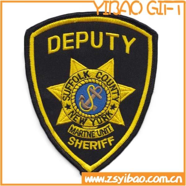 Custom Logo Embroidery Woven Patch for School Uniform (YB-pH-04)