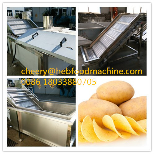 2016 Wholesale Low Cost Good Quality Fresh Fried Potato Chips Making Machine