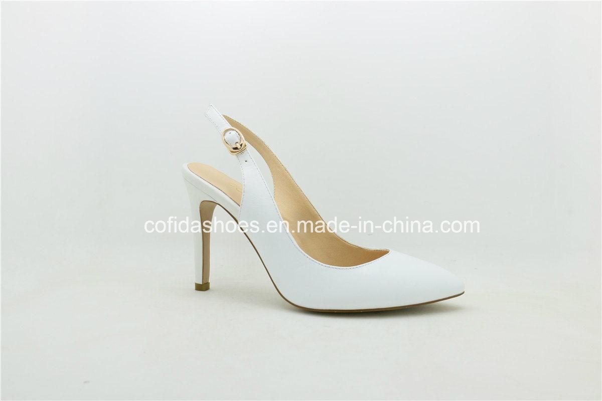 2017 Latest Fashion Women Leather Sexy High Heels