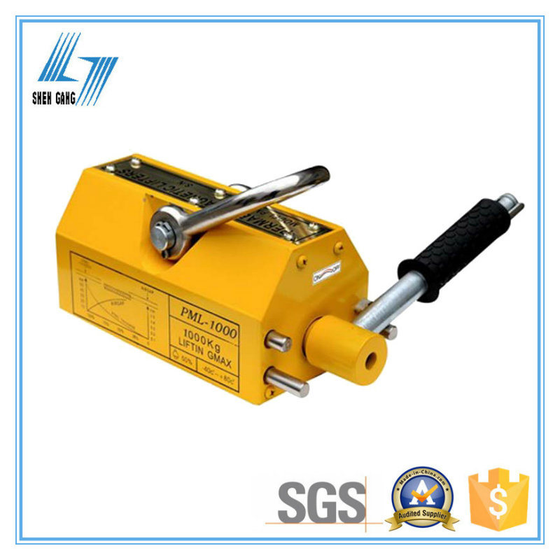 Permanent Magnetic Lifter for Steel Plate and Round Steel
