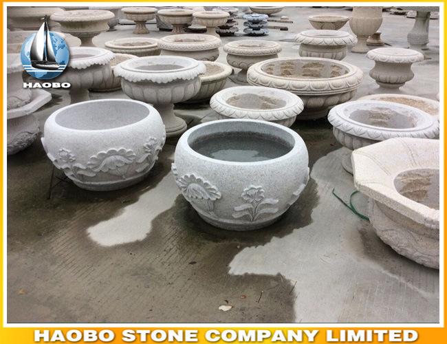 Round Shape Vase Planter for Garden Ornament
