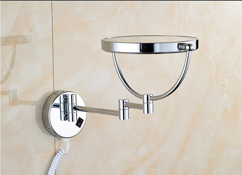 Extendable LED Light Stainless Steel Bathroom Wall Decorative Mirror (Q65)