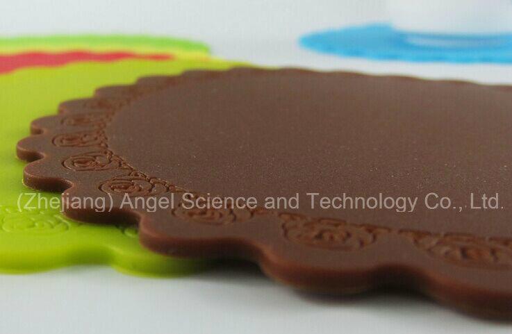 Medium Size Silicone Pad, Silicone Coaster for Cup Sm36