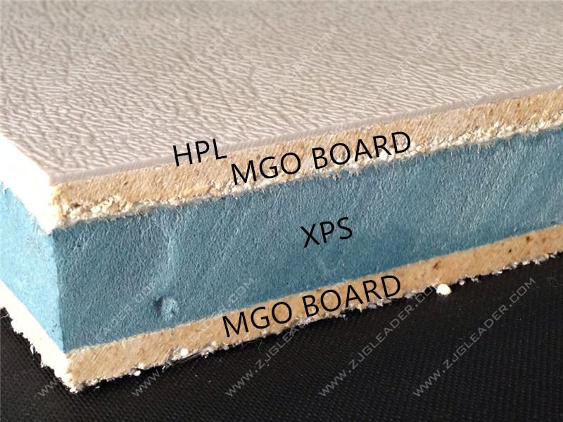 Fireproof Polyurethane EPS Sandwich Panel