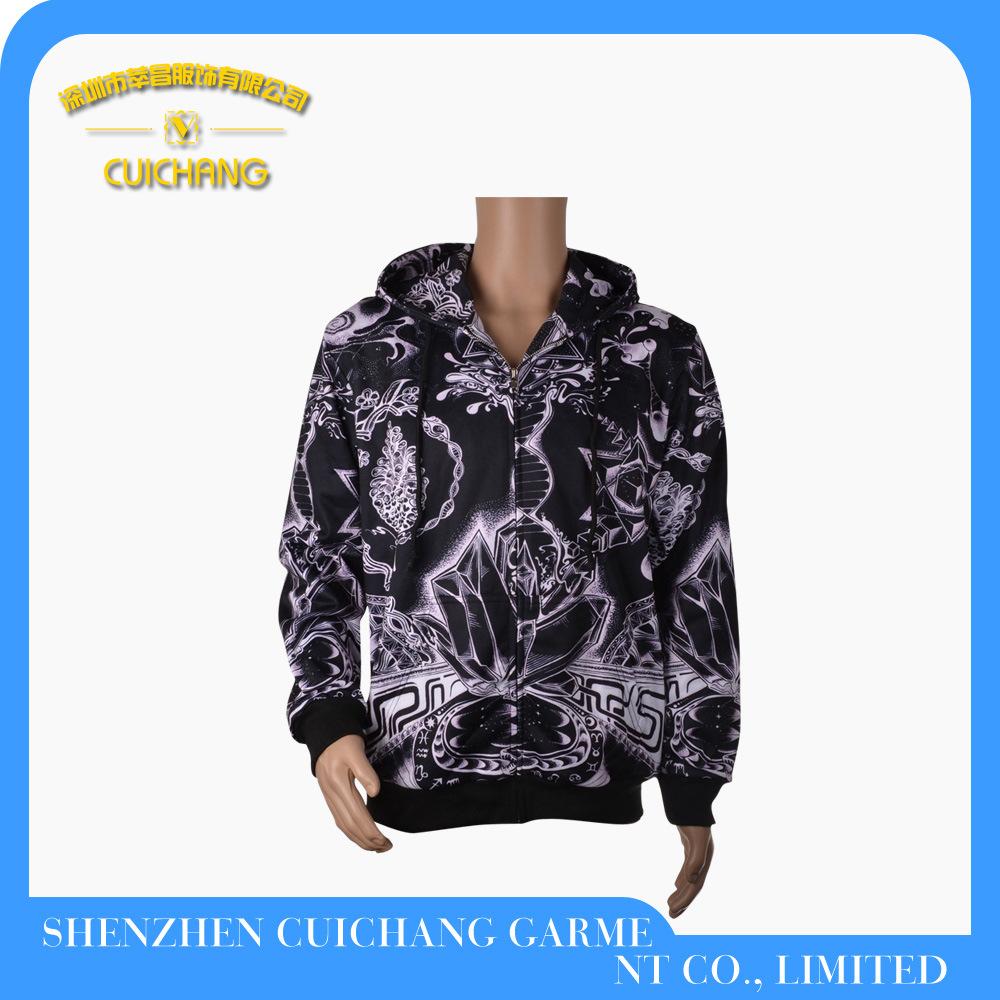 Custom Fashion Men Hoody Jacket