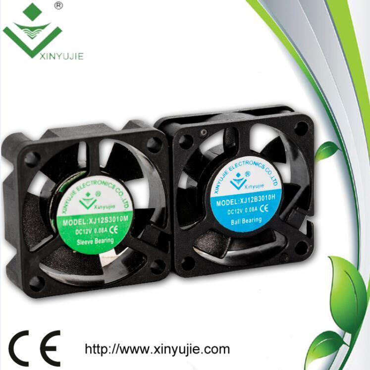 3D Printer DC Fan 30mm 30*30*10mm 24V High Air Flow Mini Fan