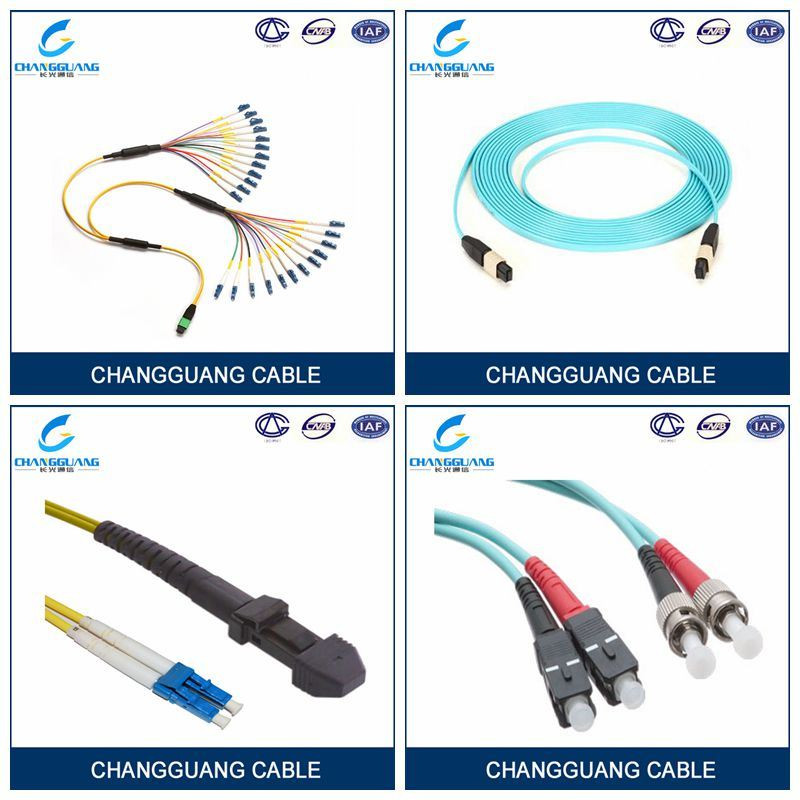 Distribution Cable 24 Core Fiber Optic Cable, Sc Optical Fiber Patchcord