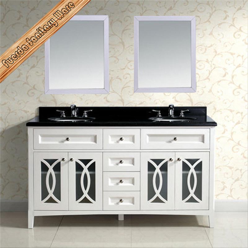 Fed-1978 Modern Solid Wood Bathroom Vanity, Bathroom Cabinet
