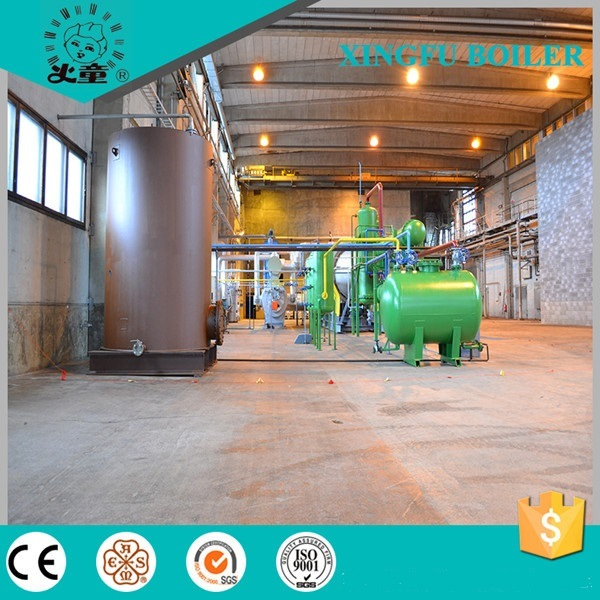 2016 Batch Type Waste Tyre Pyrolysis Line