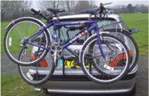 Steel Hitch Bike Carrier for Outdoor Sports Rear Bike Carrier