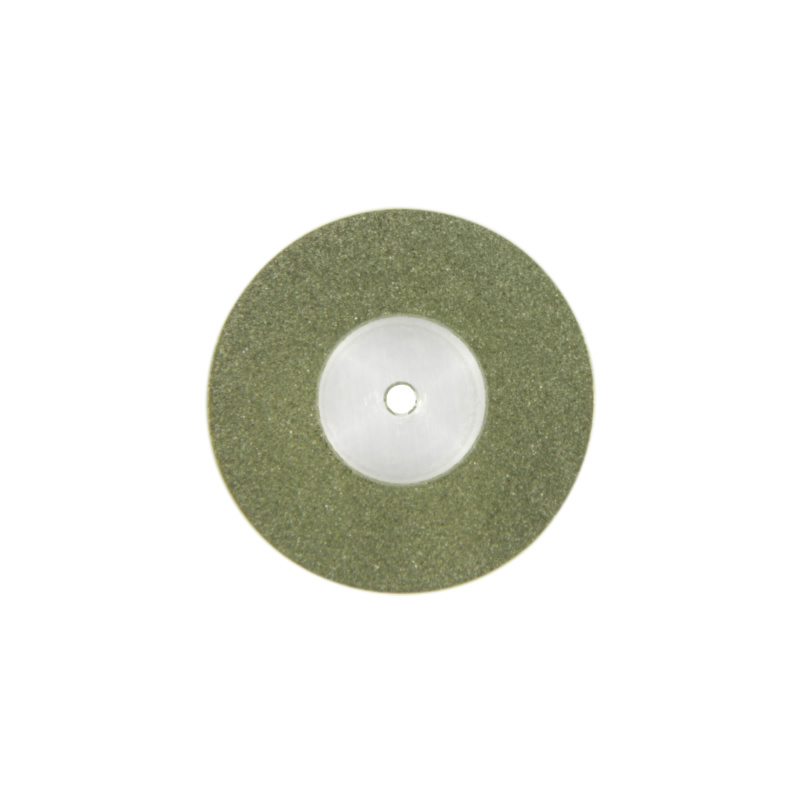 Am19d15 19mm Flexible Miniature Solid Dental Full Coated Diamond Disc Diamond Cutting Blades