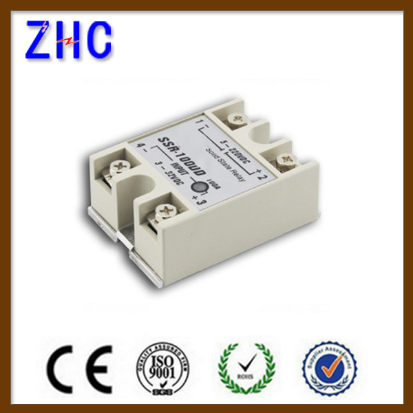 5 AMP to 120 AMP DC to Da, AC to AC, DC to DC SSR Single Phase Solid State Relay