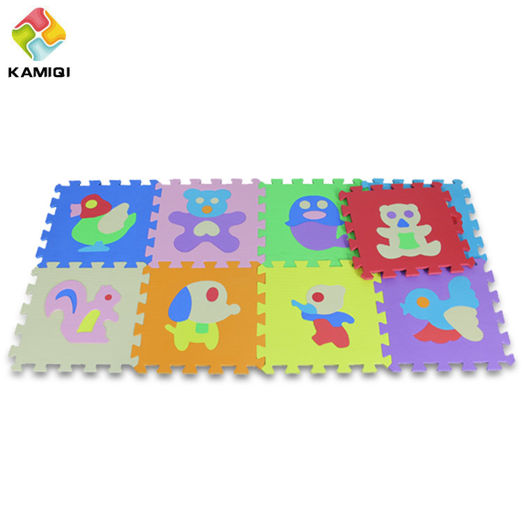 Animal Education EVA Foam Baby Play Mat