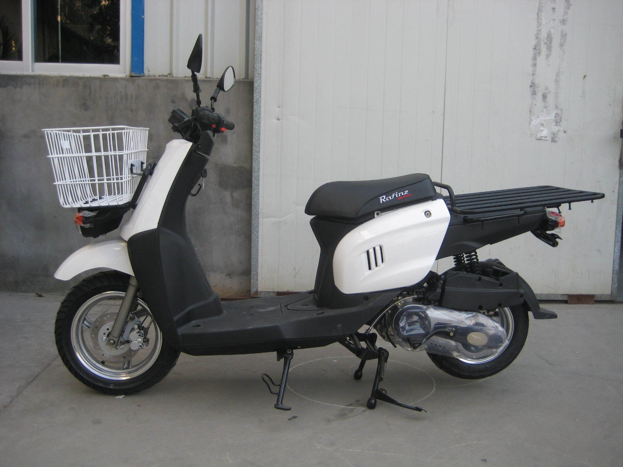 Sanyou 125cc-150cc Big Box Gasoline Scooter (SY125T-H2)