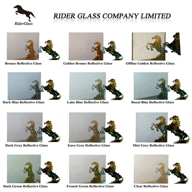 3mm-19mm Float Reflective Glass, Patterned Glass, Tempered Glass, Laminated Glass