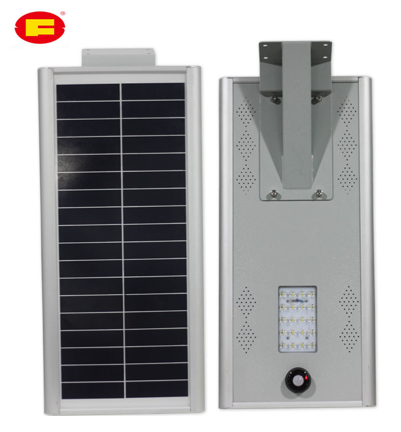 20W Solar Street Lamp in All in One Type
