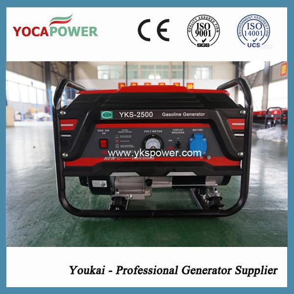 2kVA Manual Start Gasoline Electric Power Generator Set