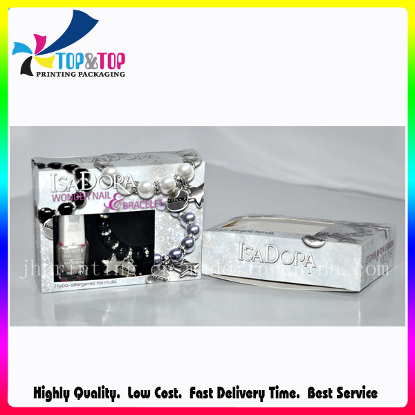 Full Color Printing Custom Paper Packaging for Nail Polish