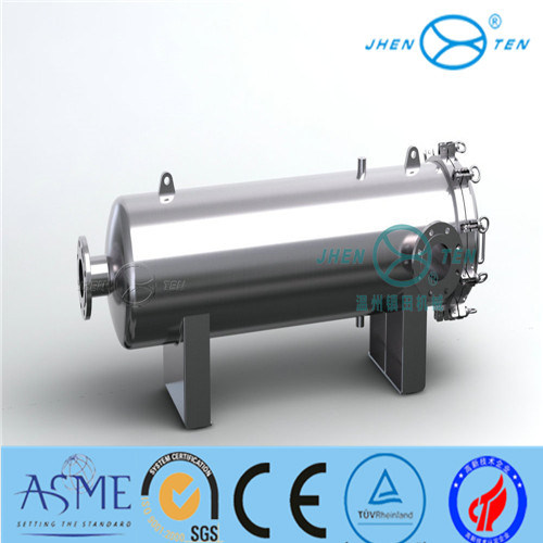 High Flow Cartridge Filter Housing with Sanitary Grade