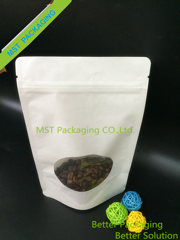 Stand up Pouch with Clear Window/Kraft Paper Bag