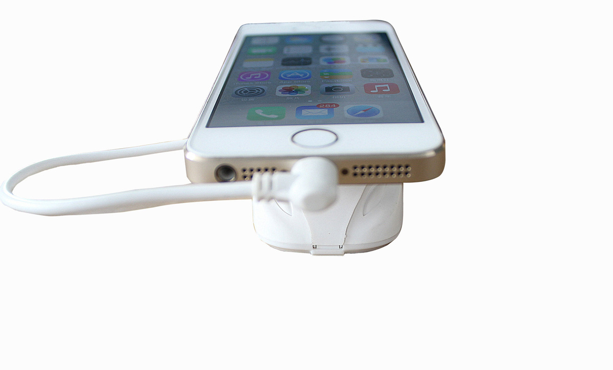 Mobile Phone Holder with Alarm and Charge Function