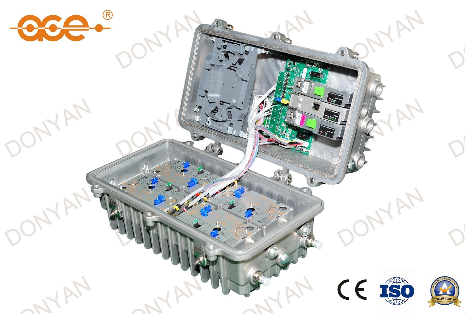 Tw2-12 Ace CATV Bidirectional Optical Node / Receiver