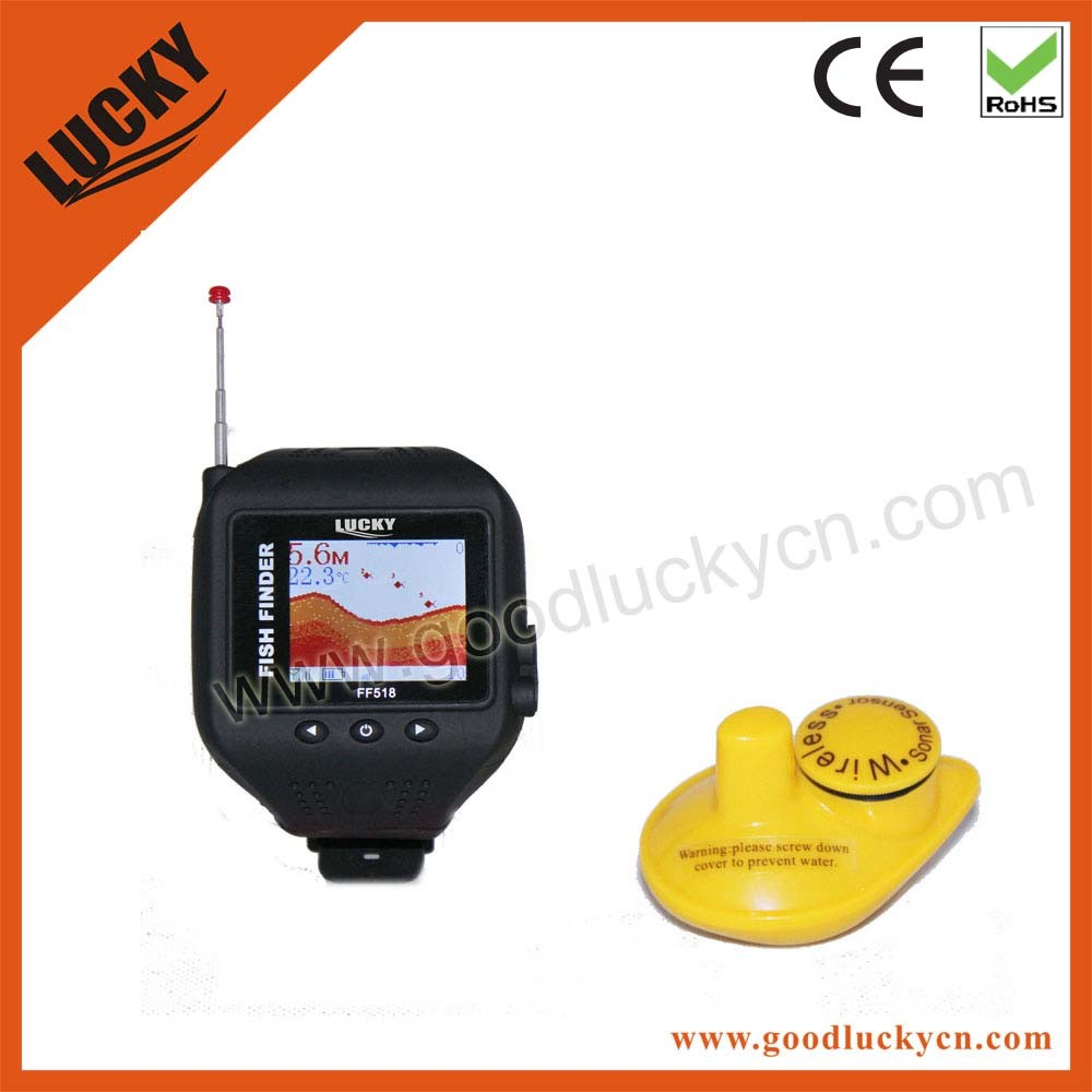 Hand-Hold Sonar Watch Fish Finder with LCD Display (FF518)