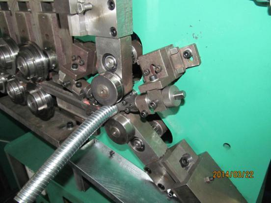 Interlock/Square Locked Flexible Metal Shower Hose Conduit Pipe Making Machine