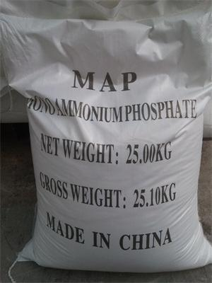 White Crystals Ammonium Dihydrogen Phosphate