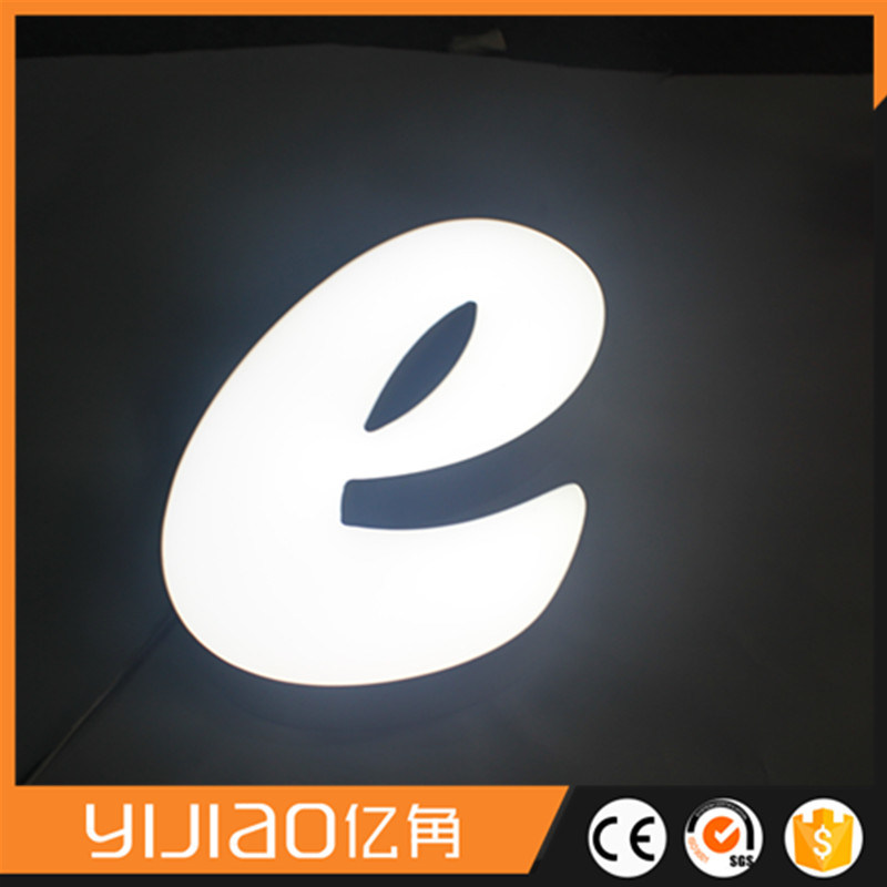 Advertising Acrylic LED Lighted Letter