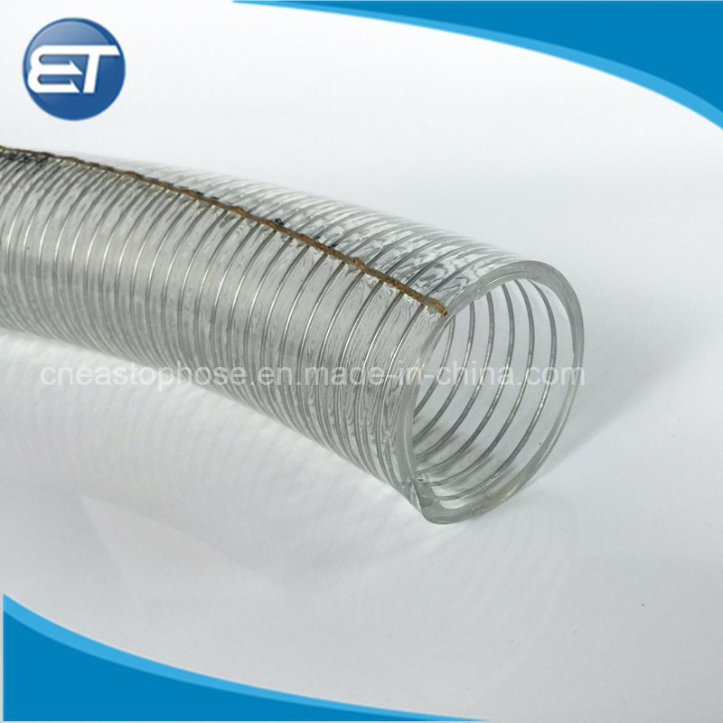 China PVC Anti-Static Steel Wire Reinforced Hose in Static ...
