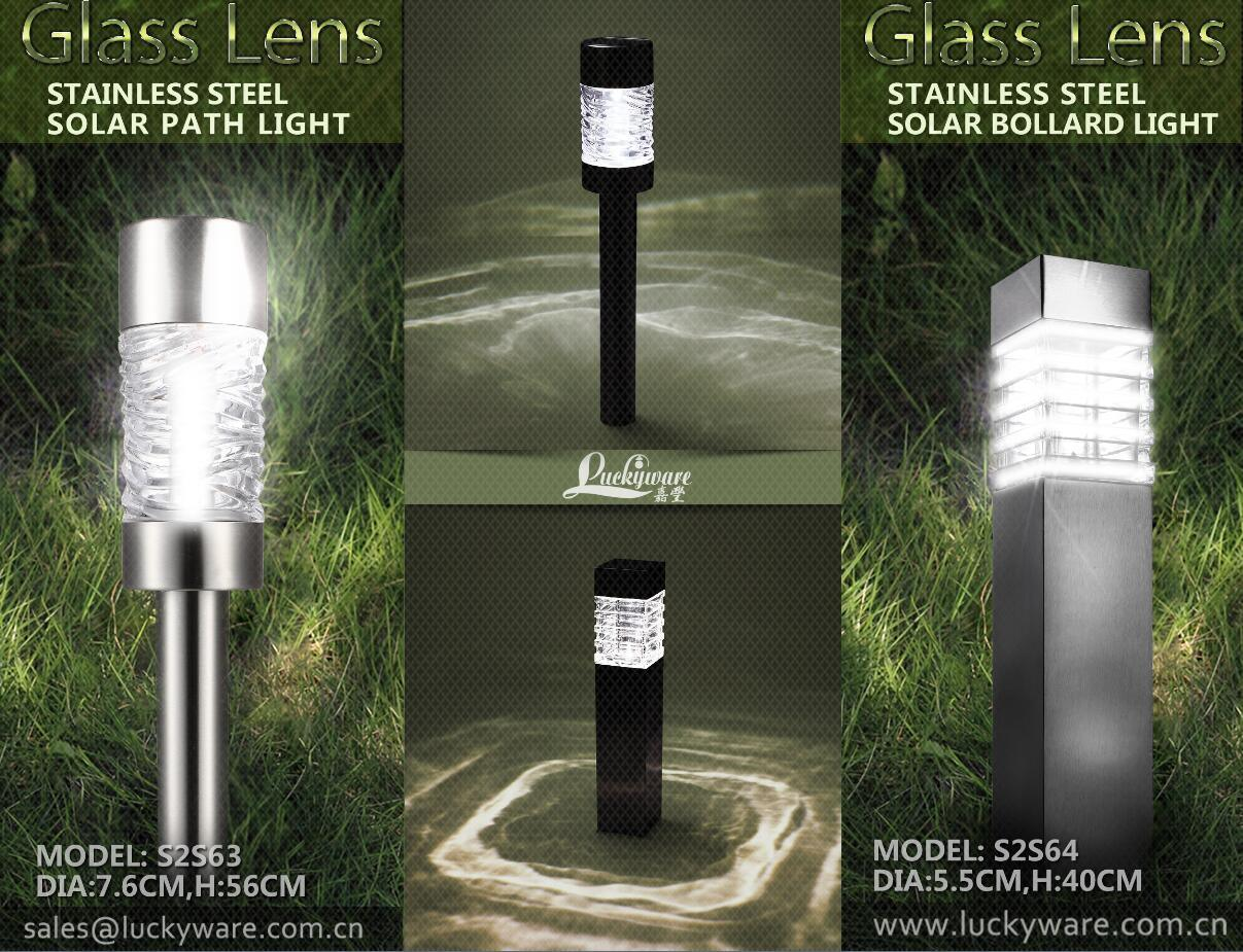 Stainless Steel Garden Bollard Light