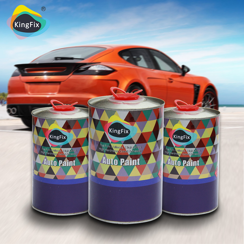 China Kingfix Brand Super Fast Drying Clearcoat For Car Painting