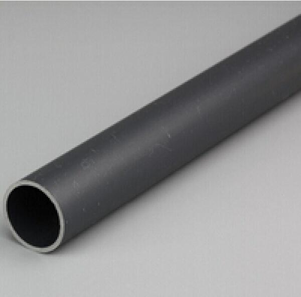 Black PVC Plastic Cable Pipe Conduit