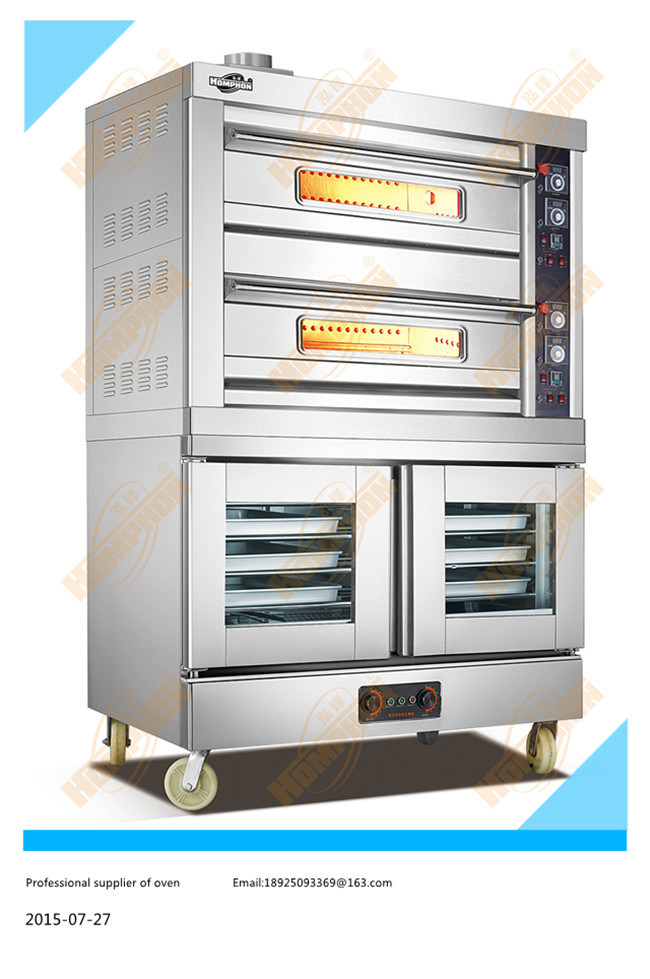 Gas Oven with Electric Proofer (204QF)
