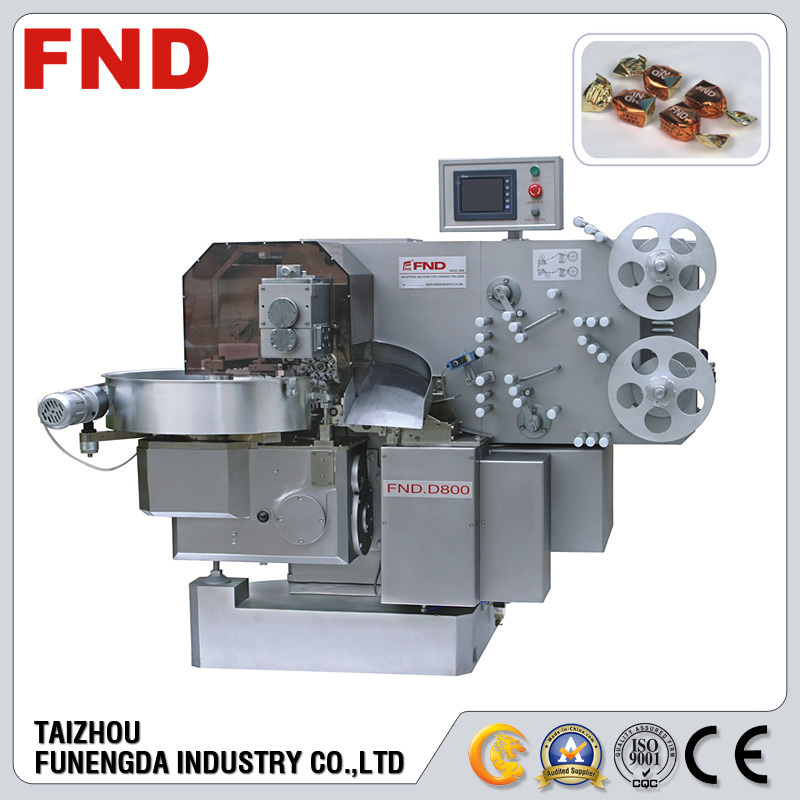 Single Twist Toffee Wrapping Machine (FND-D800)