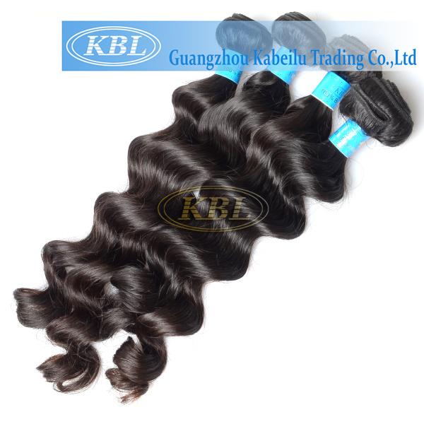 5A Grade Unprocessed Natural Black Best Brazilian Virgin Human Hair Extension