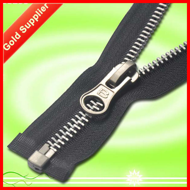 SGS Proved Products High Quality Golden Metal Zipper