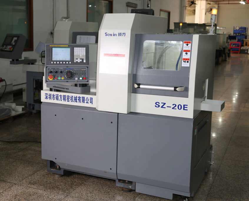 Swiss Type CNC Automatic Lathe Vertical Cutting Machine Sz20e1
