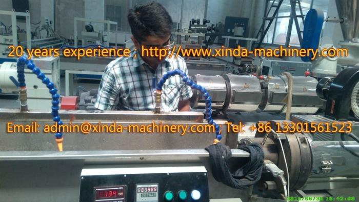 PVC TPR Shoe Welt Production Line