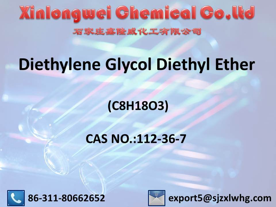 Diethylene Glycol Diethyl Ether (C8H18O3) / CAS No.: 112-36-7, as a Solvent