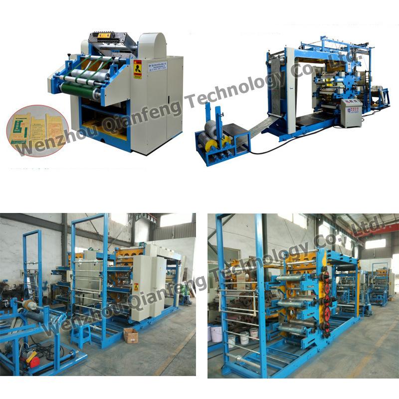Roll Flexo / Flexographic Printing Machine / Printer for PP Woven Bag